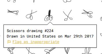 imagen de un dibujo de tijeras